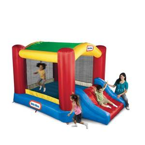 Little Tikes Shady Jump n Slide Bouncer, Dirty