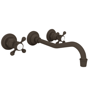 Newport Brass 3-944 Lavatory Chesterfield Faucet Wall Mount; Oil Rubbed Bronze