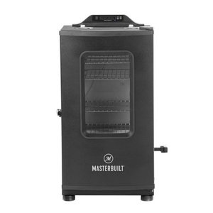 Masterbuilt MB20073519 MES 130P Bluetooth Digital Electric Smoker, Black, Minor Dents