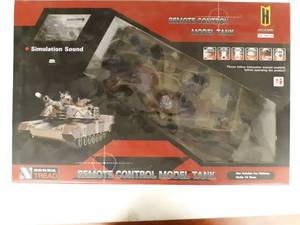 Airsoft Army War Model Battle T-90 Tank Radio Control