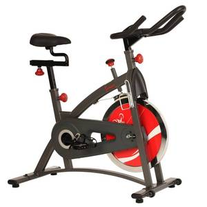 Sunny Health & Fitness Indoor Cycling Exercise Bike, Belt Drive