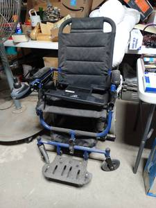Invacare Electric Wheel Chair- NEW old stock-
