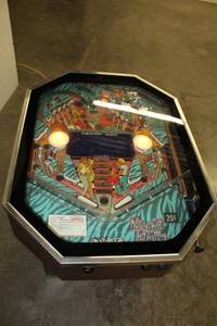 Night Moves cocktail pinball table