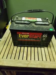EverStart 12v Battery Part#65-3