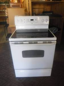 GE electric smooth top cook stove works!