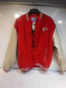 Kansas City Chiefs gameday jacket Size L New with tags