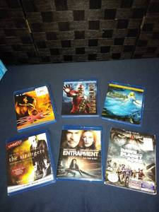 Lot of 6 Blu Ray Movies