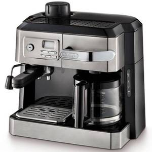 Delonghi Combination Drip Coffee, Espresso, Cappuccino and Latte Maker, Silver