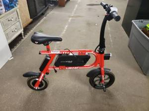 SWAGTRON PEDAL-LESS ELECTRIC BIKE, SWAGCYCLE ENVY