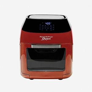 Tristar Products Inc 8 QT Family Sized Power Air Fryer Oven with 7 in 1 Cooking Features with Professional Dehydrator and Rotisserie
