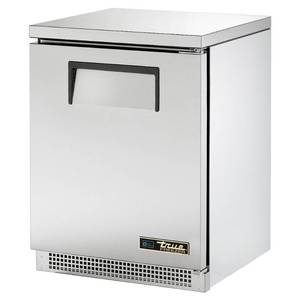 "True TUC-24F-HC 24"" W Undercounter Freezer w/ (1) Section & (1) Right Hinge Door, 115v"