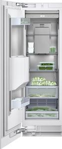 Gaggenau Vario 400 Series RF463703 24 Inch Built-In Freezer Column with Ice and Water Dispenser, Automatic Defrost, Fully Extendable Drawers, LED Sidewall, ENERGY STAR and 12.0 cu. ft. Capacity: Left Hinge Door Swing