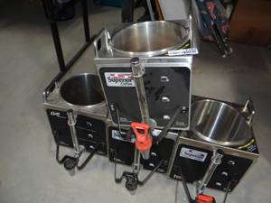Lot of 4 Commercial Coffee Machines
