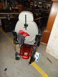 Pride: Jazzy Select Power Chair