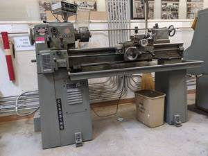 Causing Metal Lathe