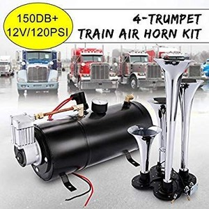150DB Super Loud Train Horns kit for Trucks