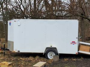 Victory Pull Behind Trailer 12 ft x 6 ft (14 including Nose)