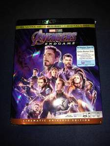 Marvel Avengers End Game Ultra HD 4K, Bluray, Digital