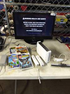 Nintendo Wii System with Games