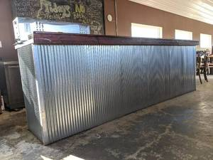Tin Paneled Bar Top