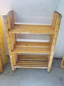 (8) 4FT Perry Scaffolding End Frames Without Casters