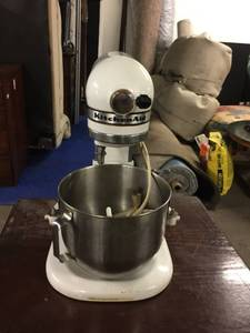 HOBART KITCHENAID  K5-A  5 QT.  10 SPEED LIFT ARM STAND MIXER