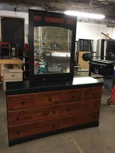 Ashley Furniture 6 Drawer Dresser with Mirror
