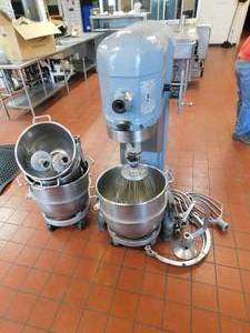 Hobart 60 Quart Mixer w/Attachments and Dolleys