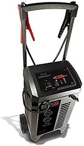 Schumacher SC1400 6/12V Wheeled Fully Automatic Battery Charger and 200/300A Engine Starter