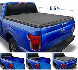 Tyger Auto Black T1 Roll Up Truck Tonneau Cover TG-BC1F9022 Works with 2009-2014 Ford F-150 (Excl. Raptor Series) | Styleside 5.5' Bed | for Models Without Utility Track System