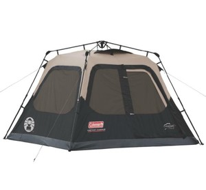 Coleman 4-Person Instant Cabin Tent - Gray