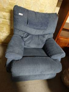 Lazy Boy Blue Recliner
