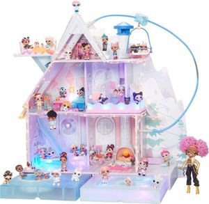 L.O.L. Surprise! Winter Disco Chalet Wooden Doll House with Exclusive Family & 95+ Surprises