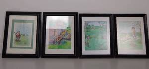 Gary Patterson Assorted Golf Prints (4 prints)