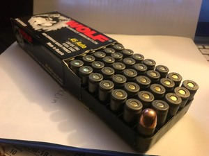 Box of 50 cartridges 45 auto