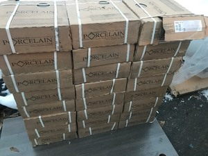 "24 cases of 12"" x 12"" tiles certified porcelain"
