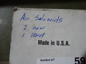 Air Solenoids 2 New,  1 Used