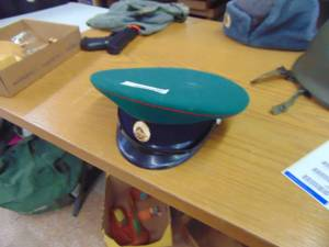Military Hat, believed to be Russian