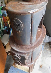 Old Fashioned Potbelly Stove