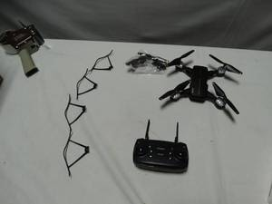 Smart fold-able drone