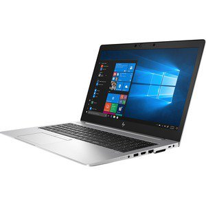 "HP EliteBook 850 G6 15.6"" Notebook - Intel Core i7-8565U - 16GB RAM - 512GB SSD - Intel UHD Graphics 620 - Windows 10 Pro - Silver"