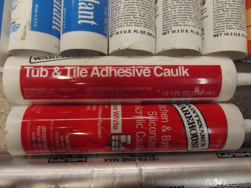Big Caulk Lot Als 2016 Super Sale Equip Bid
