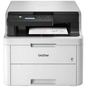 Brother Refurbished HL-L3290CDW Compact Digital Color Printer Providing Laser Quality Results with Convenient Flatbed Copy & Scan, Plus Wireless and Duplex Printing