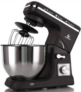 Stand Mixer MK36 500W 6-Speed 5-Quart Stainless Steel Bowl, Tilt-Head Kitchen Electric Food Mixer