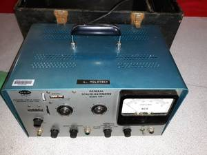 General Scaler-Ratemeter Model RCR-1 W/ Carry Box