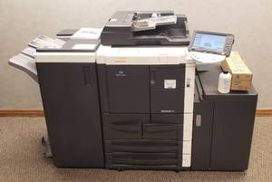 Konica Minolta BizHub 751 Copier w/2 Accessories (Large Capacity Paper Feeder and Office Assistant)