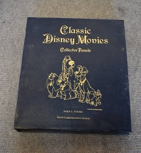 Classic Disney Movies Collector Postage Stamp Panels Binder | Lot 1 of 2 -WILL SHIP