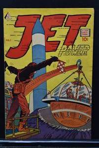 Rare Vintage I.W. Reprint Comics: Jet Power (1963) #1 -WILL SHIP
