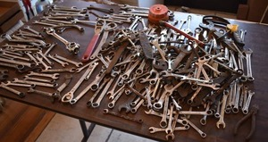 Large Lot of Wrenches | Includes a Thorsen Dog Bone -LOCAL PICKUP ONLY