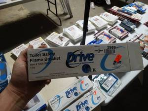Drive Medical- Toilet safety frame bracket-NEW in box!